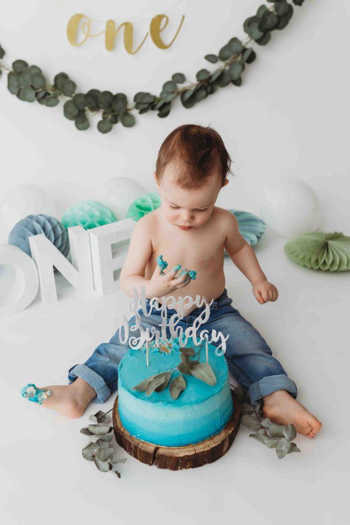 geburtstagsshooting wien baby cake smash shooting